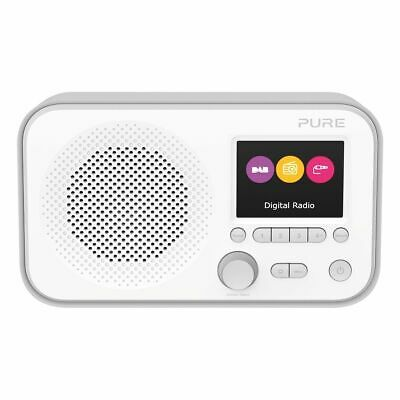 Pure Elan E3 Portable DAB+/FM Radio - Grey