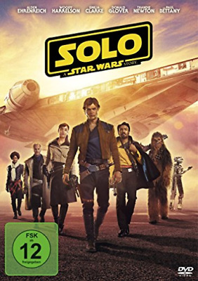 Solo - A Star Wars Story - (GERMAN IMPORT) DVD NEW