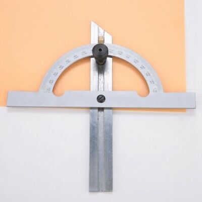 100mmx150mm Carbon Steel Adjustable Protractor Angle Ruler Tool Measuring Tool