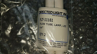 Pair New Lee Laser Nd:YAG Laser Lamp 4.4 inch Flow Tubes FLT-11161