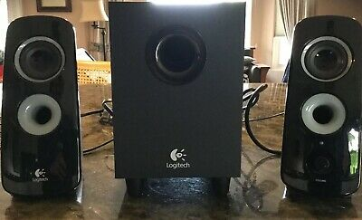 9857f5f1b7d LOGITECH Z323 COMPUTER Speaker System with Subwoofer - 2.1 channels ...