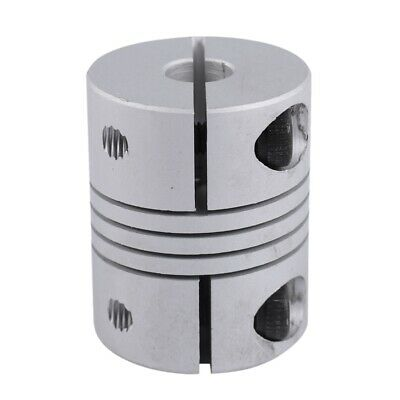1X(5mm to 6mm CNC Stepper Motor Shaft Coupling Coupler for Encoder R4D9)
