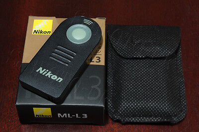ML-L3 Infrared Shutter Release for Nikon D750 D610 D7200 D5300 D3400 DSLR Camera