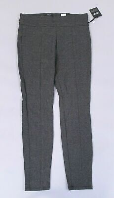 740c59e9947cc9 Simply Vera Vera Wang Women's Everyday Luxury Ultra Stretch Pants TW4 Gray  Large