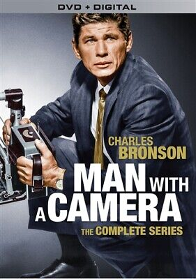 MAN WITH A CAMERA THE COMPLETE SERIES New DVD Charles Bronson Seasons 1 & 2