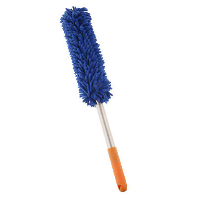 Microfiber Hand Dust Cleaning Tool Washable Household Car Dusting Brush Blue