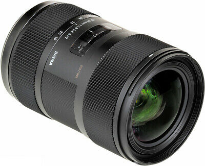 Sigma 18-35mm f/1.8 DC HSM Art Lens for Sony A #210-205