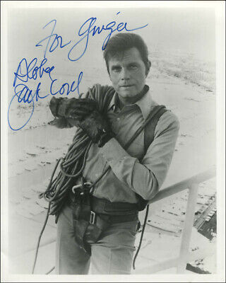 Jack Lord - Autographed Inscribed Photograph