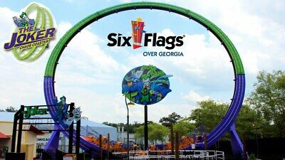 Six Flags over Georgia Tickets - 2 for $79.99 (Immediate Email Delivery)