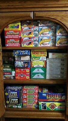 Lot Of  Vintage Unopened MLB Baseball Cards In Factory Sealed Packs