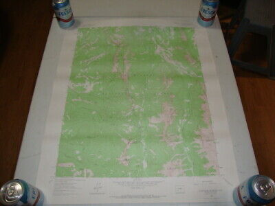 1963 U.S. Dept. of INTERIOR GEOLOGICAL SURVEY TOPO Map COURTHOUSE MOUNTAIN, COLO
