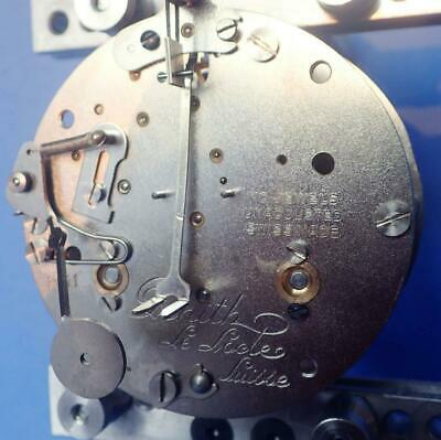 Zenith 8-Day Time & Strike Tandem Winding Clock Movement 4 Parts