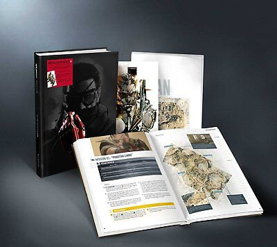 Metal Gear Solid 5 V The Phantom Pain collectors edition Piggyback guide SEALED
