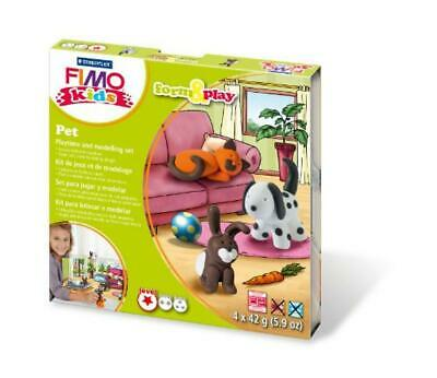 Staedtler 8034 02 LY Set Pasta per Fimo Kids F&P Pets - NUOVO