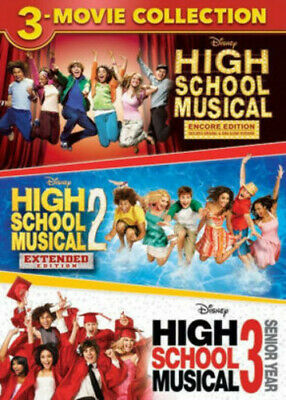 High School Musical 3-Movie Collection [New DVD] 3 Pack, Ac-3/Dolby Digital, D