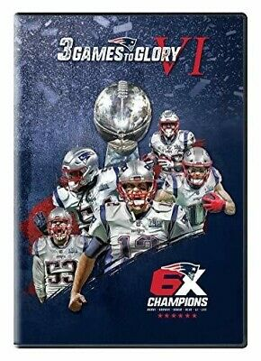 3 Games to Glory VI [New DVD] 3 Pack, Widescreen