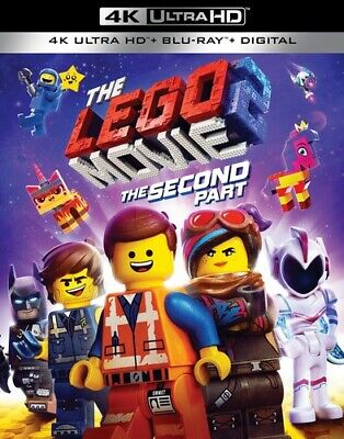 The LEGO Movie 2: The Second Part [New 4K Ultra HD] With Blu-Ray, 4K Mastering