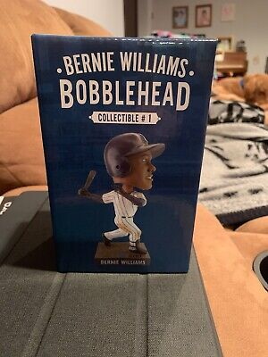 NY Yankees Bernie Williams Bobblehead 4/12/19 2019 Limited-Edition Collectible