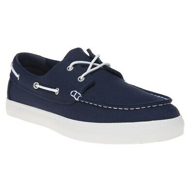 TIMBERLAND NEWPORT UNION Wharf Mens Canvas Deck Boat Shoes