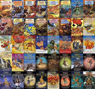 Discworld Series by Terry Pratchett - 41 Audiobooks + EXTRAS (MP3)