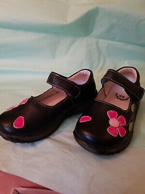 Girls Shoes Pipsqueaks AKA Rainbow Steps LIME GRN Sunflower Youth DO NOT SQUEAK