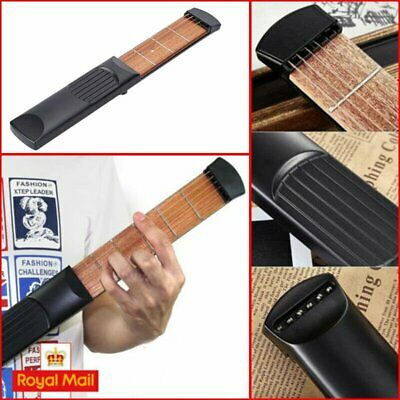 Portable Pocket Guitar Finger Trainer Beginner Chord Practice Gadget Music CA