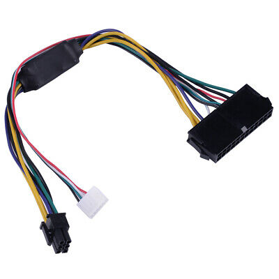24Pin to 6Pin Plastic ATX PSU Power Supply Cable Fit HPZ230 Z220 SFF MainboradG$