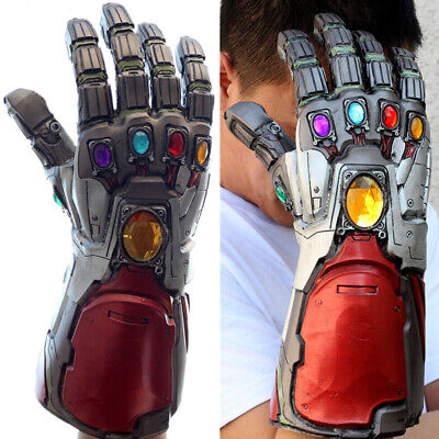Avengers Endgame Infinity Gauntlet Iron Man Tony Stark Gloves Cosplay Costume
