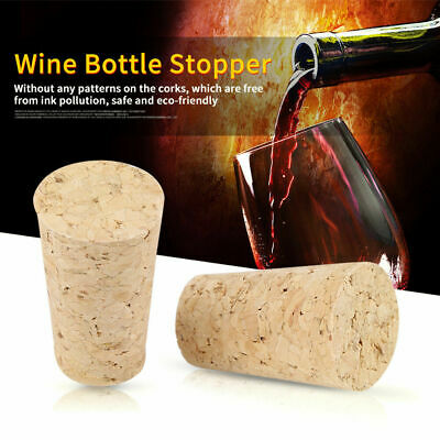 10pcs Cork Tapered Corks Wooden Wine//Beer Bottle Stoppers Bungs 13x9x10mm