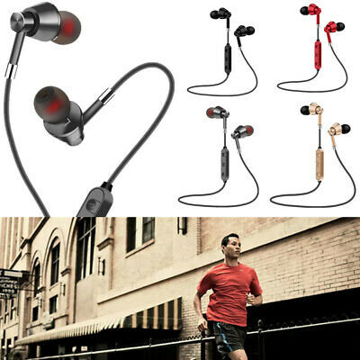 Sports Wireless Bluetooth Headphones Mega Bass Magnet Stereo In-ear Earphone M7