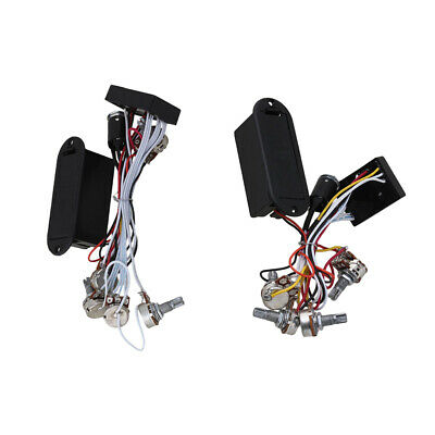 Electric Guitar 2 +3 Band Active Pickup Equalizer Harness Preamp Circuit