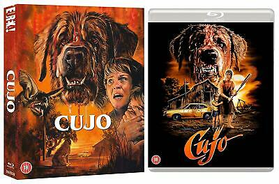 Cujo  NEW Double Blu-ray set