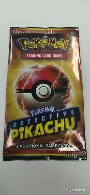Unopened movie theater Pokemon Detective Pikachu trading card game pack