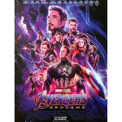 AVENGERS ENDGAME Affiche de film  - 40x60 cm. - 2019 - Robert Downey Jr, Anthony