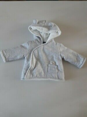 8b32bf2e0b488 Vend 1 Manteau Gris Clair Marque In Extenso Bebe 3 Mois Fille Comme Neuf