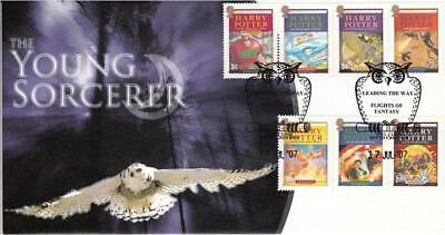 2007 Harry Potter (Stamps) - Scott Official - On our M/S cover - Only 23 Exist!
