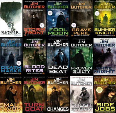 The Dresden Files Complete Series by Jim Butcher - 38 Audiobooks(Chronological)