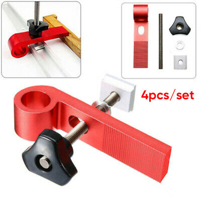 4 Pcs Universal Clamping Blocks Clamp Aluminum Alloy Woodworking Joint Hand Tool