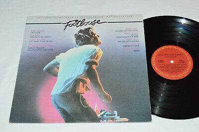 FOOTLOOSE Original Movie Soundtrack LP 1984 Columbia Canada VG JS-39242 LOGGINS