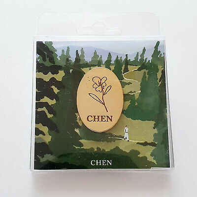 SM Town EXO Chen 1st Mini Album [April and a flower] Official Pin Badge