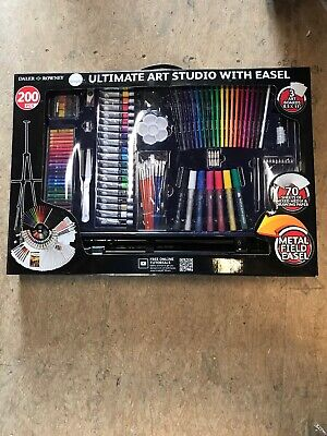 Daler Rowney 200 PC Ultimate Art Studio With Easel