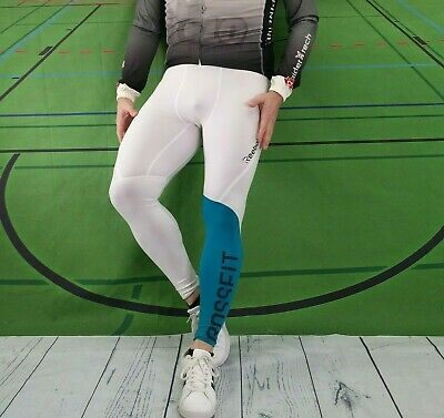 4caec0683ac8d REEBOK CROSSFIT MENS Workout Compression Pants Tights Size Large ...