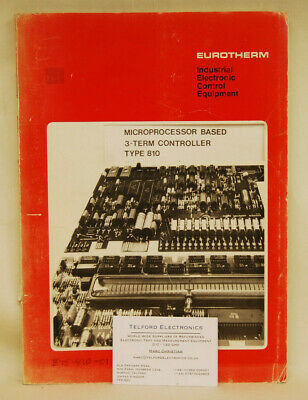Eurotherm Type810 Microprocessor Based 3-Term Controller Maintenance Manual