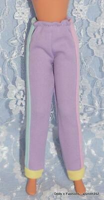 Skipper Doll Friends Lavender Pink Yellow Green Fashion Pants Trendy Teen 1990