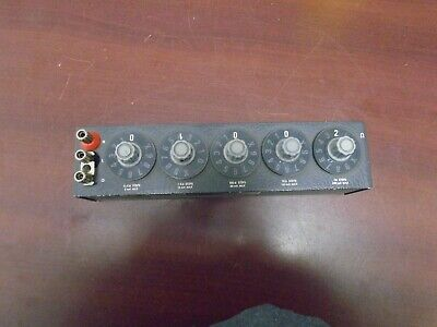 General Radio 1434-M Decade Resistor  (Works!)