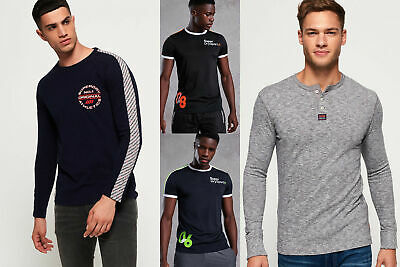 New Mens Superdry Tops Selection - Various Styles & Colours 090519