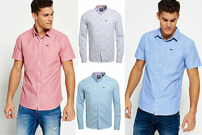New Mens Superdry Shirts Selection - Various Styles & Colours 090519