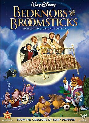 Bedknobs and Broomsticks [DVD] [1971] [Region 1] [US Import] [NTSC... -  CD PKLN