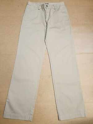 Bb200 Kids Polo Ralph Lauren Beige Straight Chino Trousers Age 16 Years W29 L30