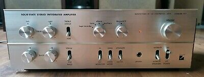 Vintage Luxman SQ-707 Solid State Stereo Integrated Amplifier